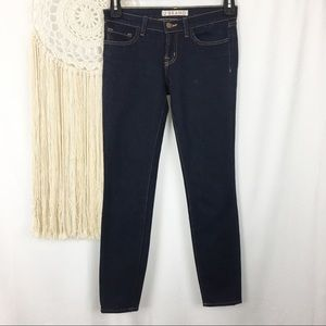 J BRAND Low Rise Dark Wash Skinny Stretch Jeans